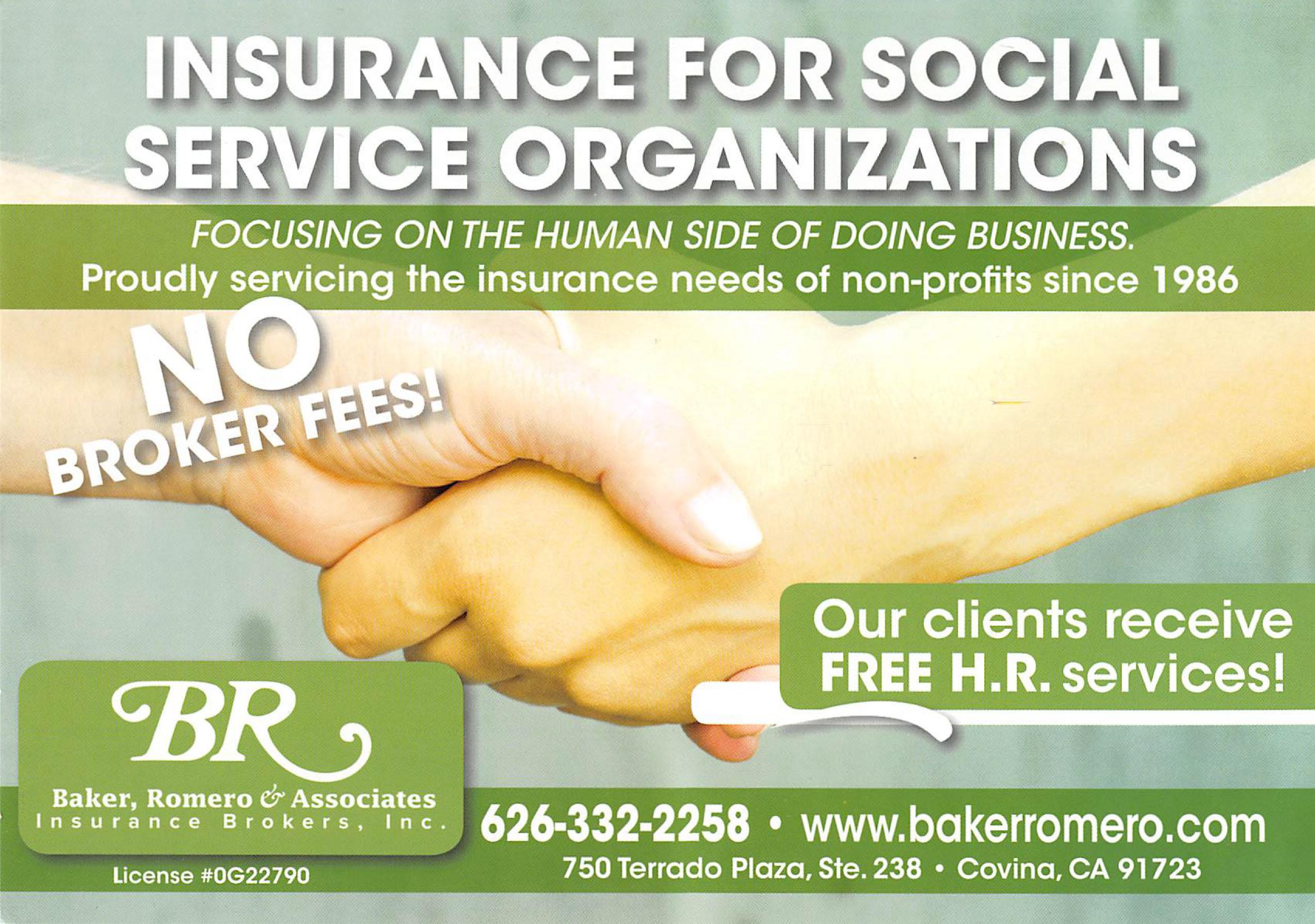 Insurance flyer for social organizations-1